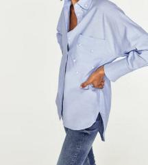 Zara NOVA srajca z biseri