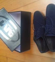 Modri semiš usnjeni čevlji številka 45