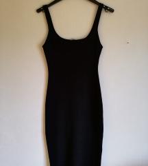 ZARA basic črna oblekica
