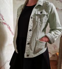 Jeans jakna - mint (brezplačna poštnina!)