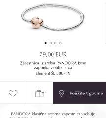 Pandora rose zapestnica