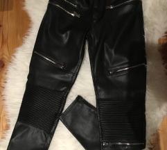 Znižane - usnjene hlače Zara