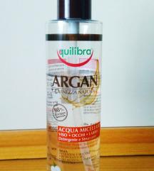 Equilibra micelarna voda arganovo olje