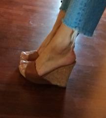 Exé visoki sandali natikači