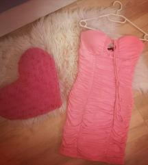 Pink obleka