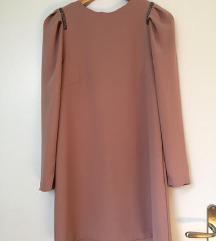 Roza obleka H&M