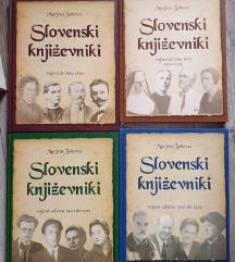 Kot nove 4 knjige-Slovenski književniki