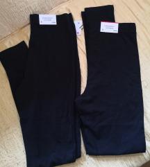 Komplet črnih novih high waist pajkic
