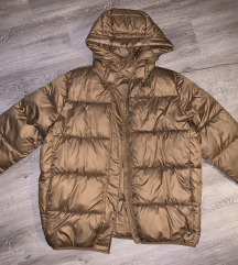 Bronze padded jacket