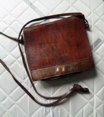Usnjena retro torbica