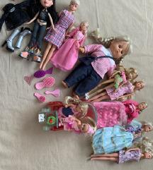 Komplet punčk, barbik - Bratz...