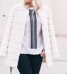 Zara bel fur plašč
