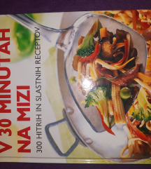 V 30 minutah na mizi, kuharska knjiga
