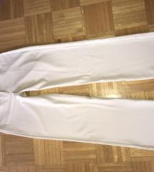 Bež elegantne hlače