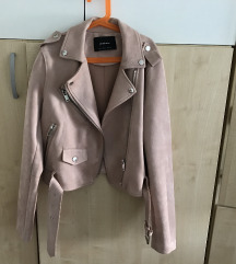 Nova semiš roza jakna
