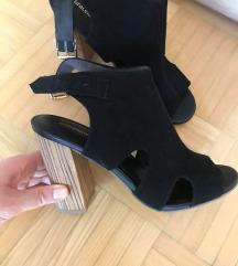 Črni sandali