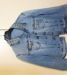 Sisley jeans jakna z detajli