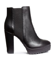 H&M high heel ankle boots