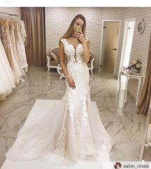 extravagantna Poročna obleka