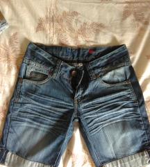 Bermuda jeans hlače