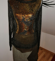 mrežast pulover