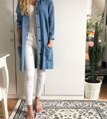 Zara nov jeans plašč