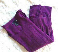 NOV Vijoličast pulover