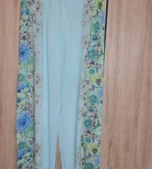 Svetlo modre, tanke poletna hlače
