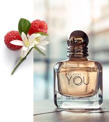 Parfum Armani Because It's You 100ml EDP ORIGINAL