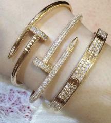 Zebelj Cartier z bisercki