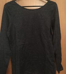 svetleča sivo-črna majica