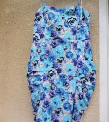 Nova modra cvetlična Orsay poletna obleka