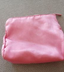 Roza kozmetična torbica