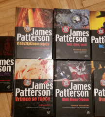 JAMES PETTERSON - KNJIGE