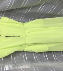 Poletna neon obleka