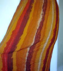 etno  oranžno pisano krilo,M