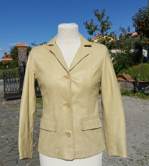 MARTIN'S št. 40 / 42 pravo usnje jakna ITA