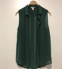 Temno zelena bluzica - NOVA!