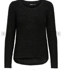 črn ONLY pulover XS + ptt