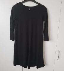 črna nova obleka
