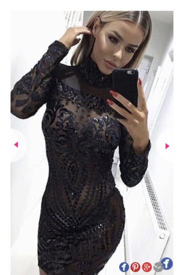 Bleščeča obleka