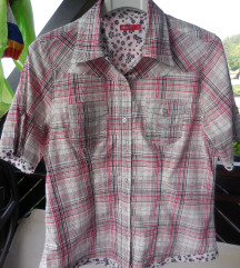 Nova bombažna karirasta srajčka