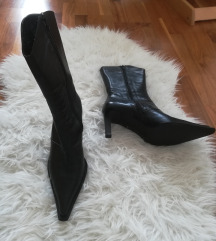 Polvisoki novi usnjeni škornji