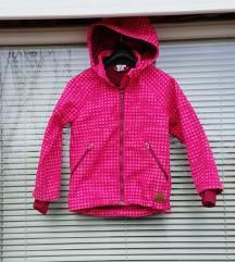 H&M št. 122 ( 6 - 7 let ) softshell jakna