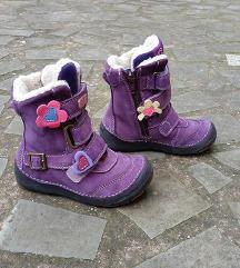 D.D.Step št. 25 zimski usnjeni škornji