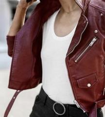 AKCIJA!! ZARA leather jacket