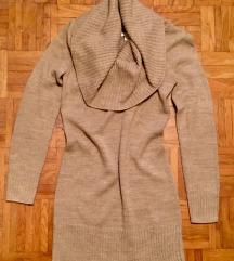 H&M bež zimska oblekca M