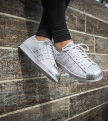 Adidas Superstar metal toe 38