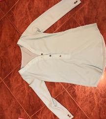 Elegantna srajčka s, mint barve
