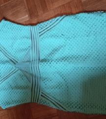 Nova turkizna mini oblekca